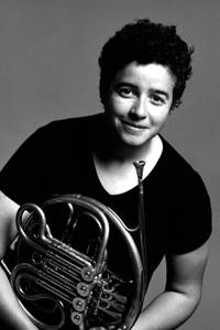 "Lisa Ford, Principal Horn, Gothenburg Symphony Orchestra: ""The bold collaboration of these two master craftsmen has resulted in a fantastic instrument with a great sound. It is a joy to play!"" - Lisa Ford"